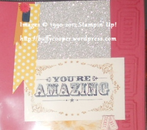 You're Amazing, Stampin' Up Convention part 2
