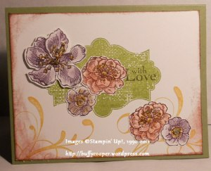 Everything Eleanor, Field Flowers, Card Buffet, Stampin' Up
