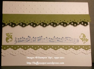 Nature's Pace, Stampin' Up, Convention 2012, swaps