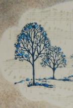Lovely as a Tree, Stampin' Up!, masking, reverse masking