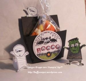 Halloween llama blog hop, Stampin' Up!, Googly Ghouls, Big Shot, Petite Purse
