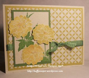 Fabulous Florets, Daffodil Delight, Summer Starfruit, In Colors, Stampin' Up!, Comfort Cafe