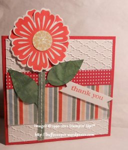 Mixed Bunch, Susan Horr, Stampin' Up, Just Believe