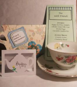Tea with Aretha!