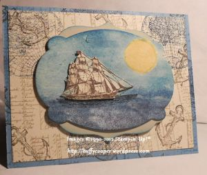 Open Sea, Word Play, Stampin' Up!