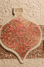 Ornament Keepsakes, Holiday Ornaments, Christmas, Holiday, Stampin' Up, Champagne, Big Shot