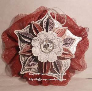 Stampin' Up, Daydream Medallions, Delicate Doilies, Ornament Keepsakes, Sizzix, Big Shot, Stampin' Up, Holiday, Christmas