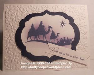 Come to Bethlehem, MDS 2, My Digital Studio, Stampin' Up, digital crafting, Big Shot