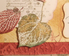 French Foliage, Petite Pairs, Out of the Box, Stampin' Up, Big Shot