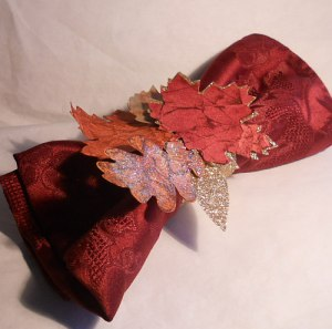 Napkin Ring, Autumn Accents, Holiday catalog, Stampin' Up!, Champagne glimmer paper