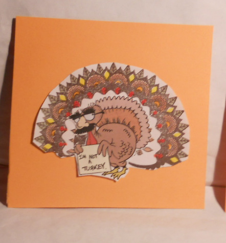 Turkey, Peacock, World Treasures, Stampin' Up, Thanksgiving