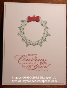 Daydream Medallions, Linda Wicks, Holiday, Christmas cards, heart punch, Stampin' Up