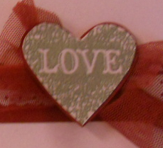 Love Heart, Single Stamps, Stampin' Up, Heat embossing, valentine