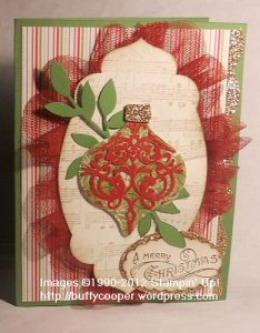 Candlelight Christmas, cards, Stampin' Up, Holiday, Ornament Keepsakes, glitter, glimmer paper, embossing