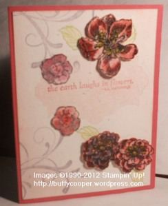 Everything Eleanor, Fabulous Florets, embossing, Stampin' Up!