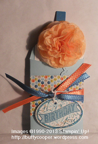Best of birthdays, Stampin' Up!, 25th Anniversary, Pocket Cards, flowers, Big Shot