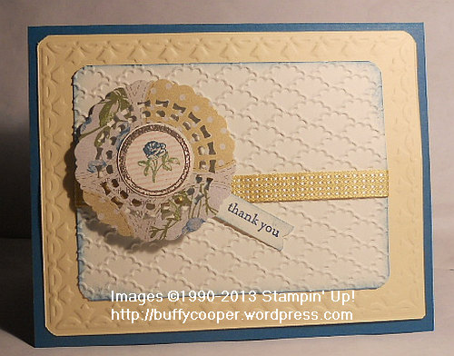 Collage Curios, Stampin' Up Leadership 2013, swap