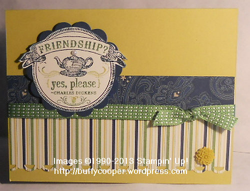 From My Heart, Print Poetry, Stampin' Up demonstrator, In colors