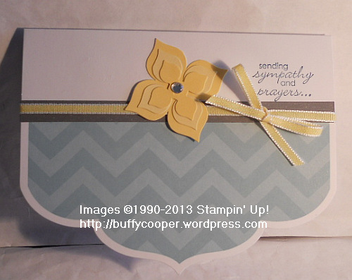 Simply Sent, Happy Hello, Sale-a-bration, free stuff, Stampin' Up, sympathy