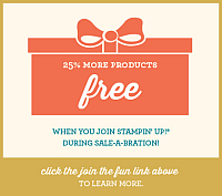 Sale-a-Bration, Stampin' Up, Stampin' Up! Sale-a-bration, rubber stamping, free crafts supplies, free rubber stamps