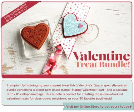 Stampin' Up, Valentine Treat Bundle