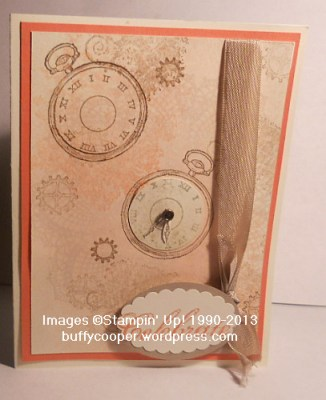 Clockworks, Feeling Sentimental, Sale-a-bration, Stampin' Up