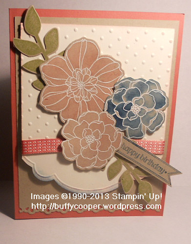 Secret Garden, Sizzix, Big Shot, Framelits, embossing, Stampin' Up! Spring Catalog