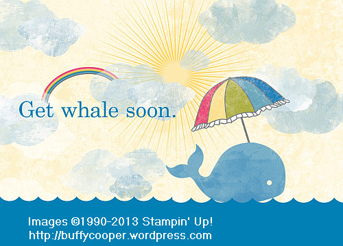 Sunshine and Sprinkles Digital Collection Disc, Stampin' Up!, Get Whale, MDS 2