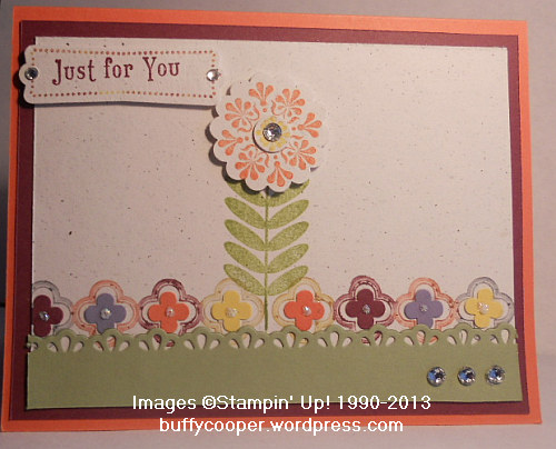 Madison Ave, Stampin' Up!, Sale-a-bration, Spring, Tea Shoppe