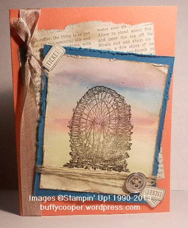 Feeling Sentimental, Sale-a-bration, Stampin' Up!, Spring Catalog