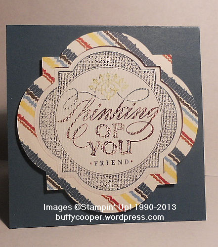 Just Thinking, Stampin' Up! Spring Catalog, Parker's Patterns, Canvas Creations