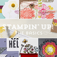 The Basics, Online stamping class, Stampin' Up