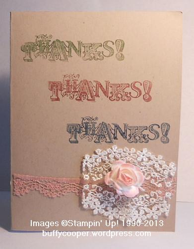 Vintage Verses, Stampin' Up! Spring Catalog, Stampin' Up! Sale-a-bration, Artisan Embellishments Kit