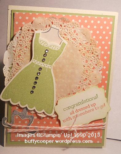 All Dressed Up, Dress Up Framelits, Stampin' Up!, Spring Catalog