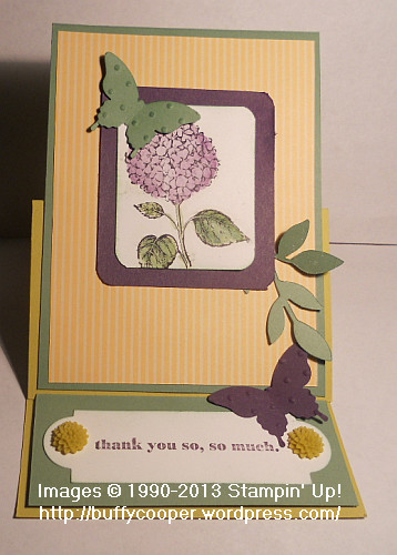 Best of Flowers, Easel Card, Stampin' Up!, Delightful Dozen