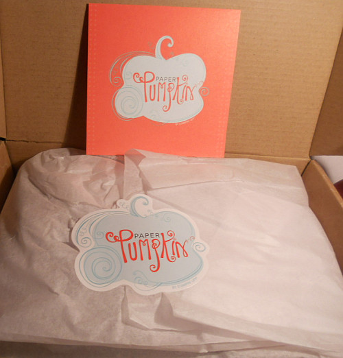 My Paper Pumpkin, Try It Kit, Stampin' Up!, Jots and Thoughts