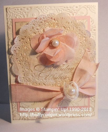 Color Refresh, Blushing Bride, Stampin' Up! Spring Catalog