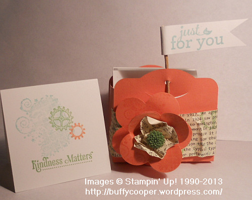 Stampin' Up! Baltimore Regional Make & Take, Clockworks, note cards