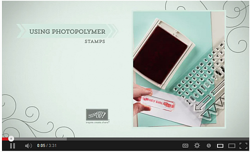 Photopolymer stamps, Stampin' Up!, clear stamps, Bombs Away