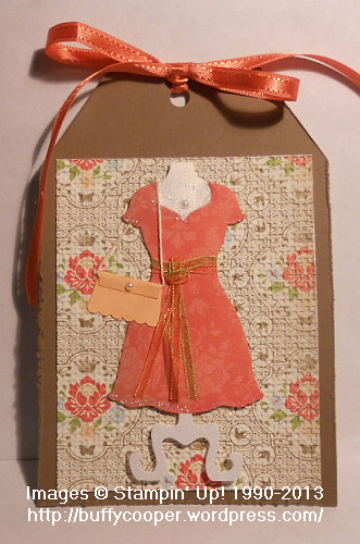 Baltimore Regional, Stampin' Up!, Dress Up Framelits, tags