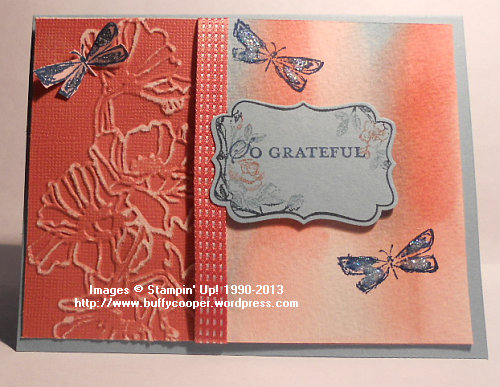 Best of Butterflies, Four Frames, Apothecary Art, Stampin' Up