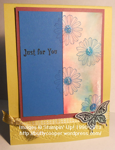 Best of Flowers, Baltimore Regional, Sketch Challenge, Stampin' Up!