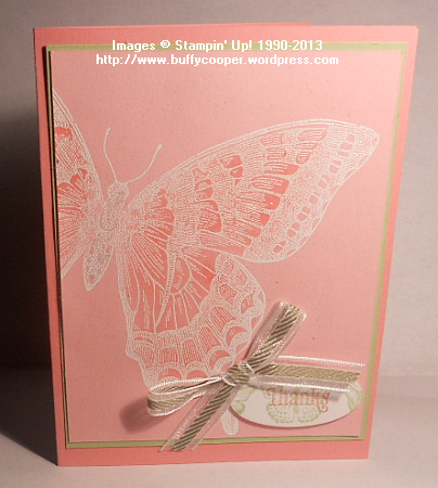 Swallowtail, Stampin' Up! Spring Catalog, Retiring Colors