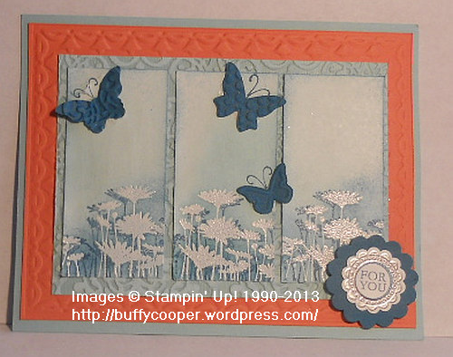 Best of Flowers, Stampin' Up!, A Round Array