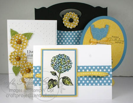Best of Flowers, Craft Project Central, Stampin' Up!