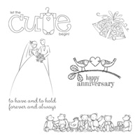 Brides & Babies, 25th Anniversary, Stampin' Up!
