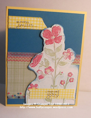 Wildflower Meadow, Stampin' Up!, Sneak Peek, Gingham Garden, washi tape