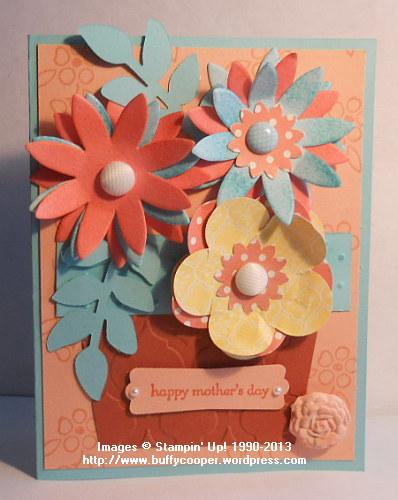 Stampin' Up! Spring Catalog, Mother's Day,  Pop-up posies designer kit