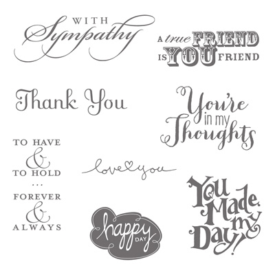 Best of 25 years, Stampin' Up! 25th Anniversary, Best of Greetings