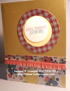 Gingham Garden, Yippee Skippee, Stampin' Up!